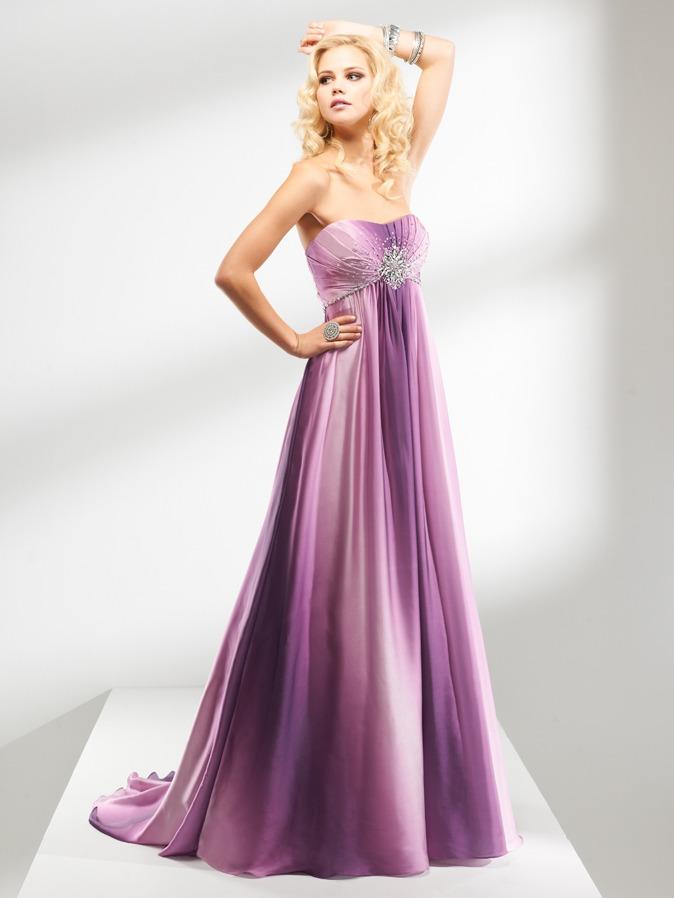 escolher vestido degrade